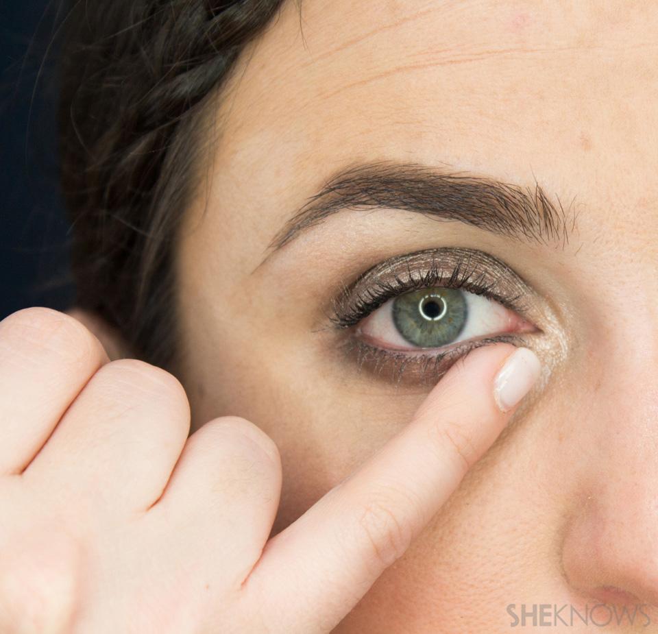 Shimmery, Fall Eye Look: Step 7