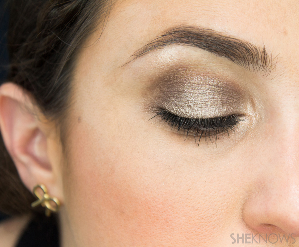 Shimmery, Fall Eye Look: Finished