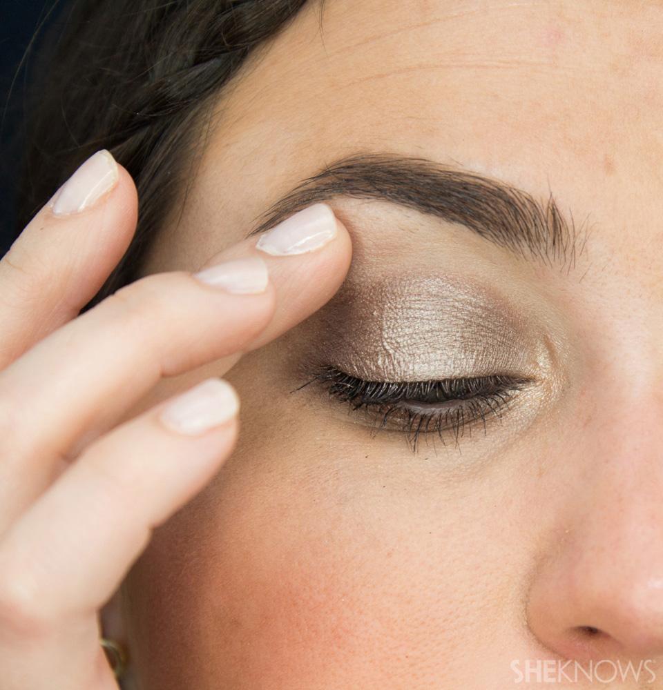 Shimmery, Fall Eye Look: Step 8