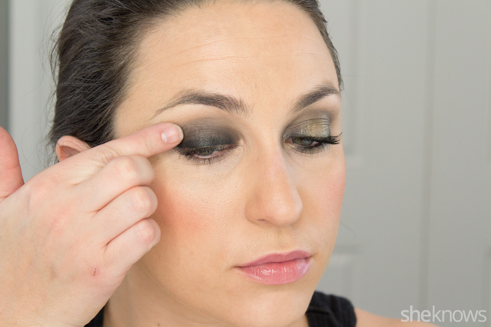 Fast and Festive Holiday Look: Step 3