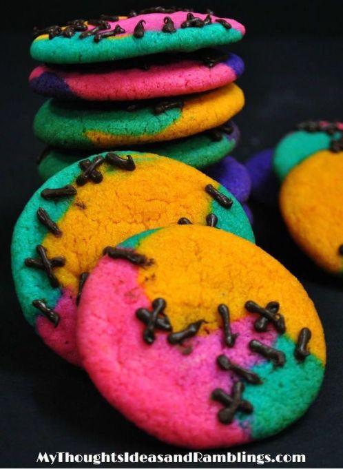 'Nightmare Before Christmas' Sally cookies