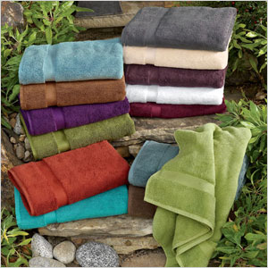 Organic Cotton Thick & Thirsty Towel Set