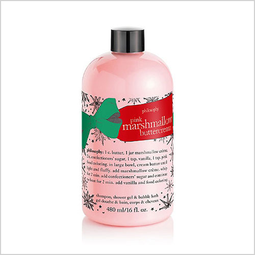 Philosophy Pink Marshmallow Buttercream Shampoo, Shower Gel & Bubble Bath