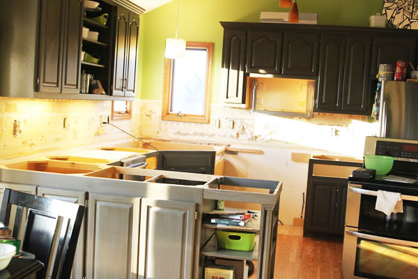 Remodeling a Kitchen - Sugar Bee Crafts