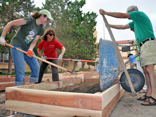 Growing dignity: The Mustard Seed Cafe & First Christian Church Community Gardeners