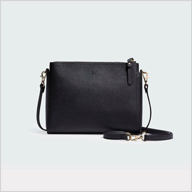 The Pearl Leather Crossbody Bag & Clutch