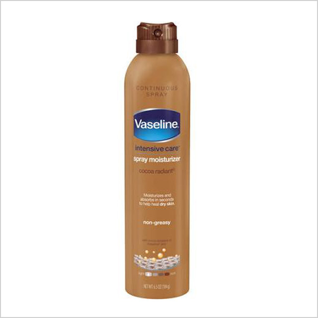 Vaseline Intensive Care Cocoa Radiant Spray & Go Moisturizer