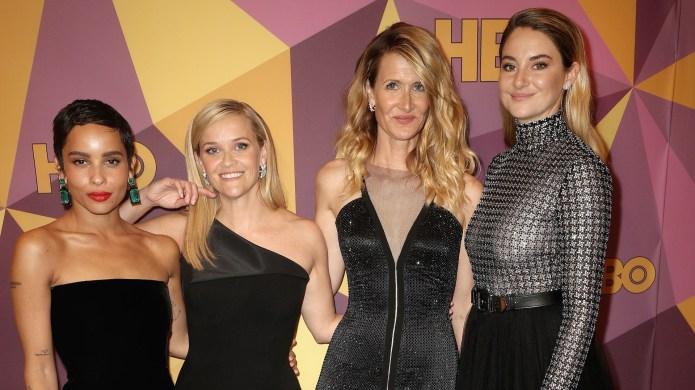 Zoe Kravitz, Reese Witherspoon, Laura Dern