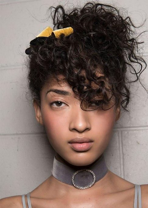 Swept-Up Curls