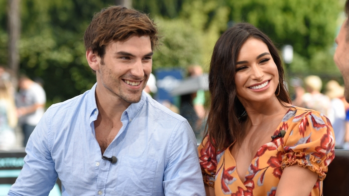 Jared Haibon and Ashley Iaconetti visit