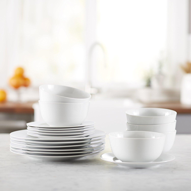 AmazonBasics dinnerware