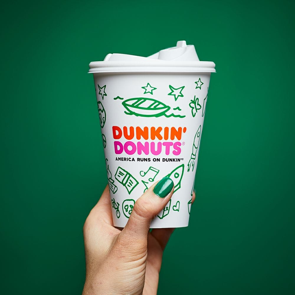 Dunkin Donuts Girl Scout Coffee
