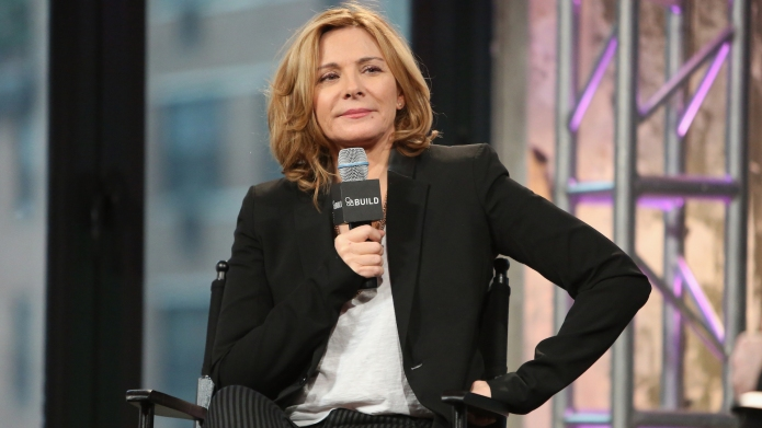 Kim Cattrall attends AOL Build Presents