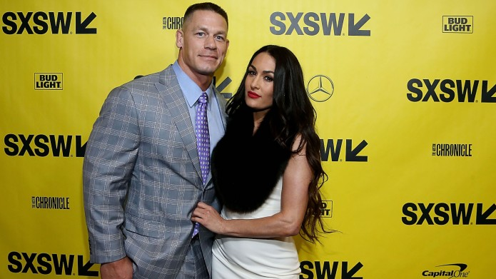 John Cena and Nikki Bella attend