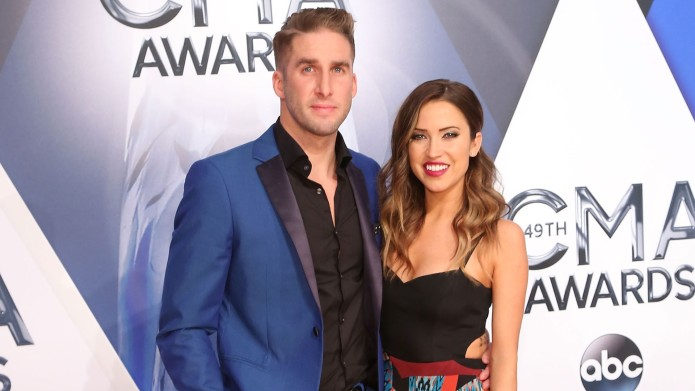 Kaitlyn Bristowe and Shawn Booth arrive