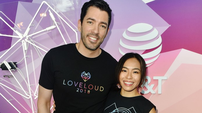 Drew Scott and Linda Phan attends