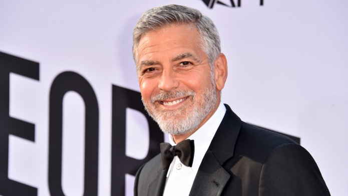 George Clooney arrives at the American