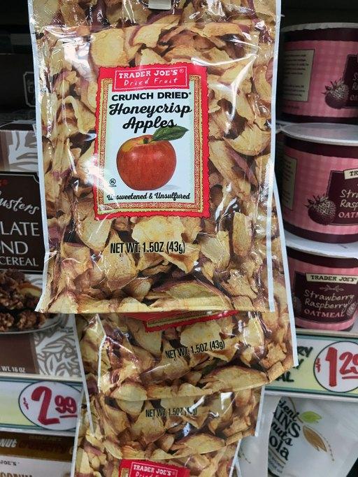 Crunch Dried Honeycrisp Apples