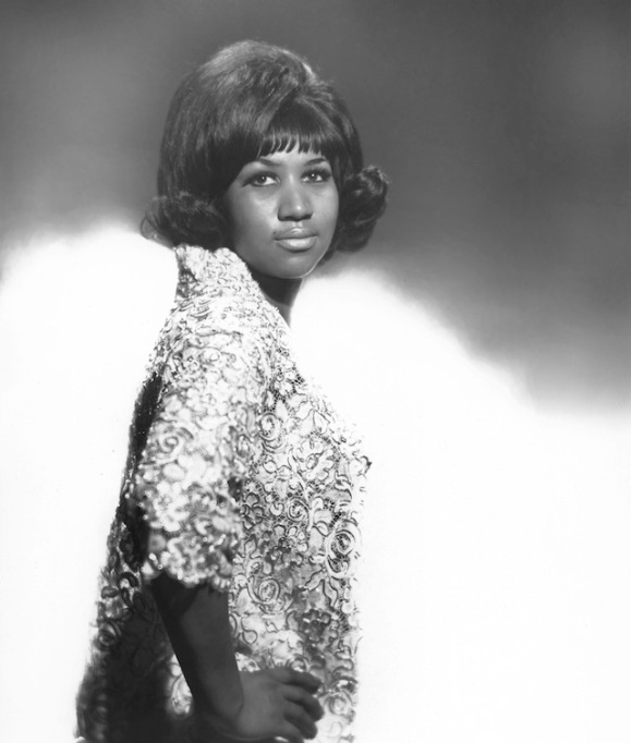 Soul singer Aretha Franklin poses for a portrait in New York City circa 1965