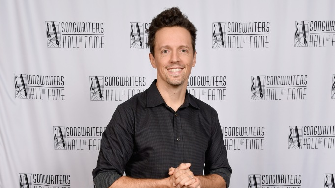 Jason Mraz attends the 49th Annual Songwriters Hall of Fame Induction Ceremony