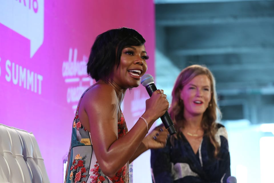 BlogHer 18: Gabrielle Union Speaking on Women's Wellness