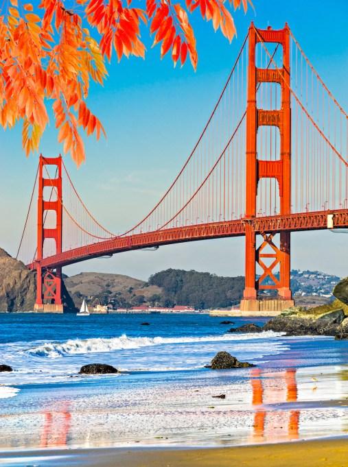 San Francisco, California in the fall