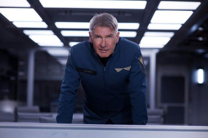Harrison Ford in Star Trek