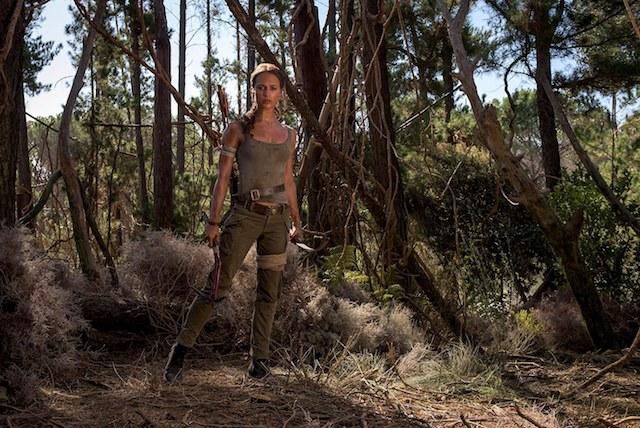 Still of Alicia Vikander in 'Tomb Raider'