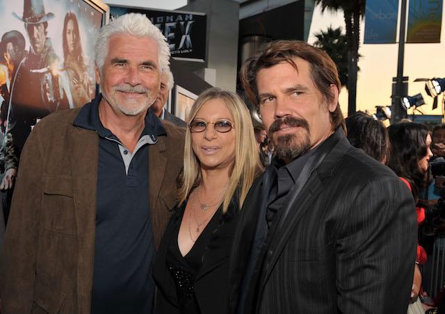 James Brolin, Singer Barbra Streisand and Actor Josh Brolin attend the 'Jonah Hex' Los Angeles premiere