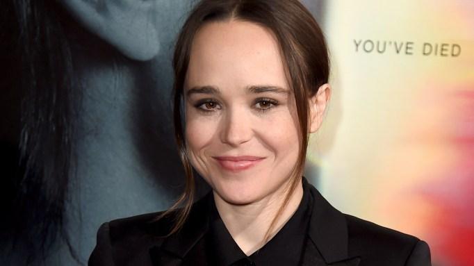 Ellen Page arrives at the 'Flatliners' premiere