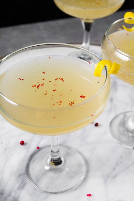 Cardamom Kombucha Cocktail
