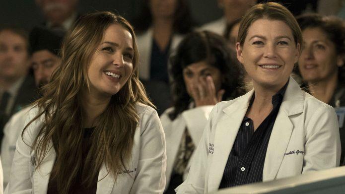 Grey's Anatomy, Camilla Luddington, Ellen Pompeo