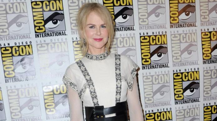Nicole Kidman poses at the Warner