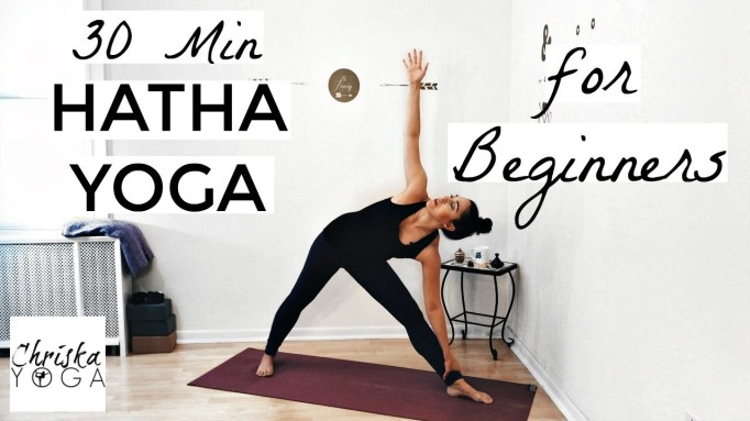 30 Min Hatha Yoga for Beginners by ChriskaYoga