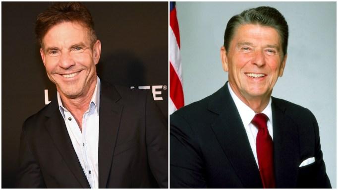 Dennis Quaid, Ronald Reagan