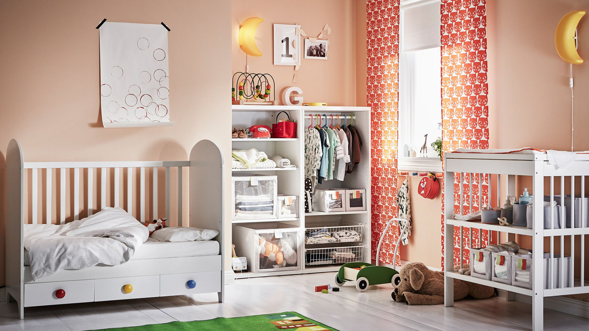 the best nursery kids room decor from ikea sheknows rh sheknows com ikea nursery accessories