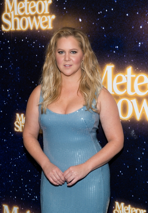 Amy Schumer at Meteor Shower event