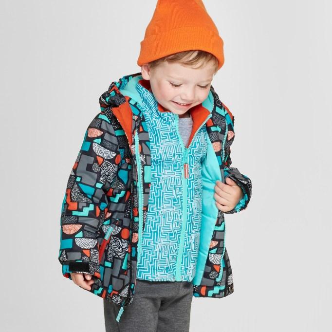 Geometric 3-in-1 Jacket