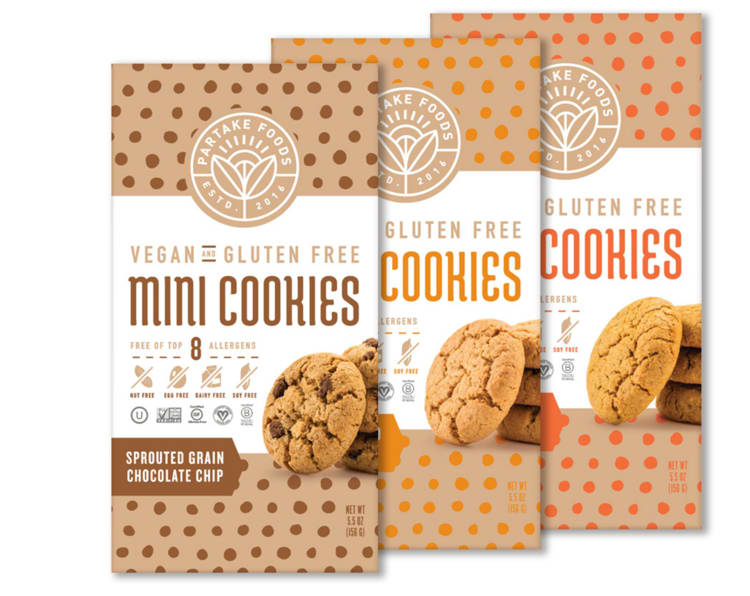 Partake Foods mini cookies
