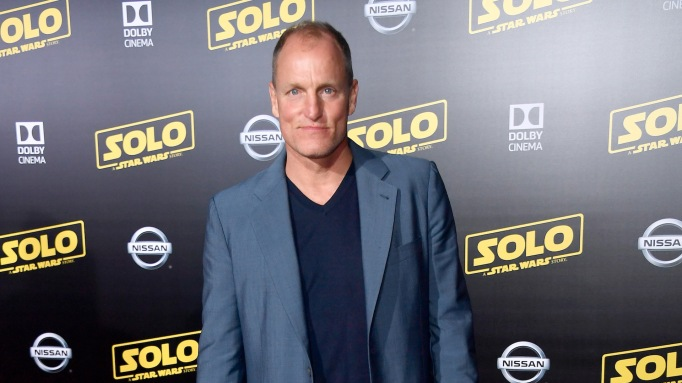 Woody Harrelson arrives at the 'Solo: A Star Wars Story' premiere