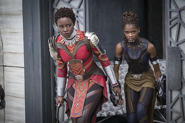 """Still from """"Black Panther"""""""