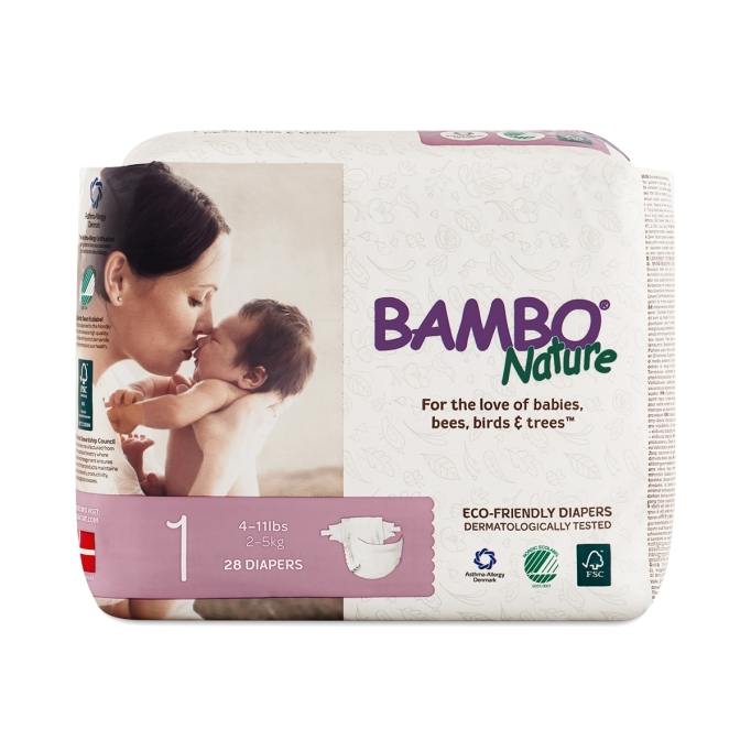 Thrive Market Bamboo Nature Diapers
