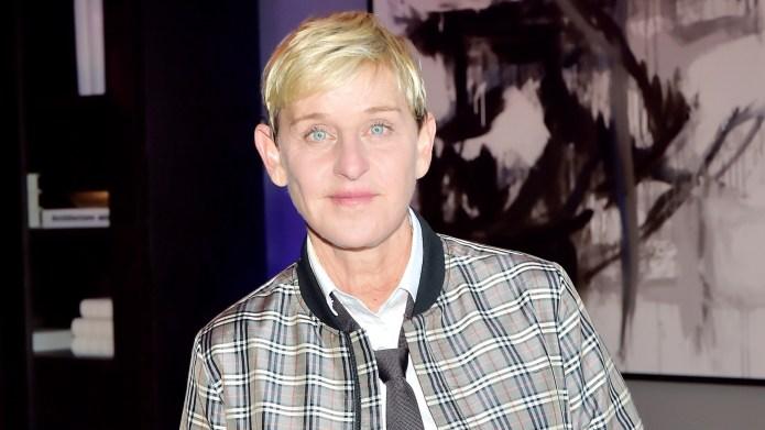 Ellen DeGeneres attends GENERAL PUBLIC x