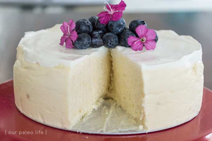 Instant pot low-carb cheesecake