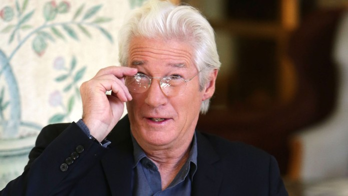 Richard Gere photo session