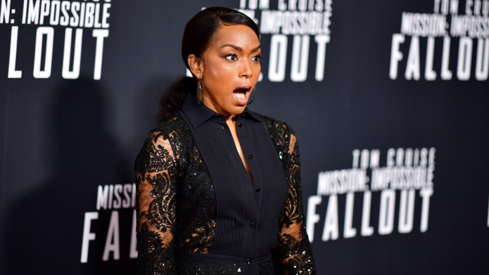 Angela Bassett attends the 'Mission: Impossible