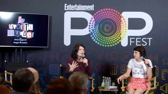'My Favorite Murder' at 2016 Entertainment Weekly Popfest