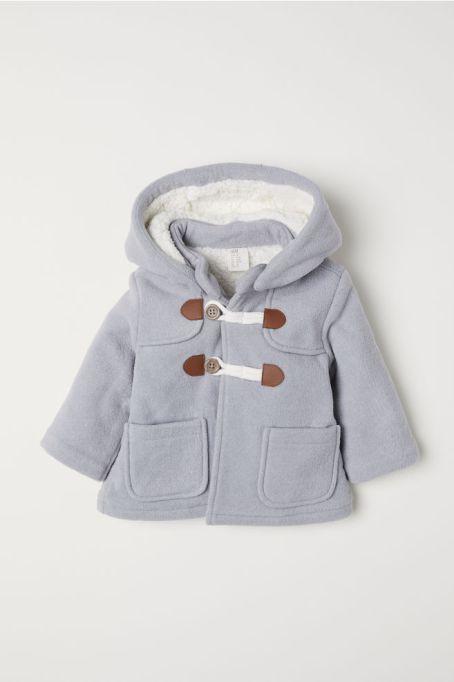 Pile Lined Duffle Coat
