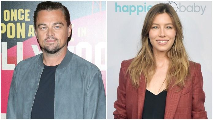 Leonardo DiCaprio and Jessica Biel