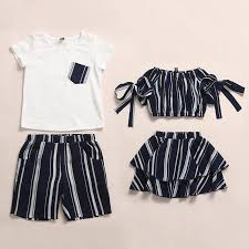 Contrast Stripes Outfits